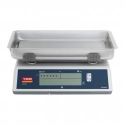 Prekybinės svarstyklės TEM030C - Su kalibracijos sertifikatu   30 kg/10 g