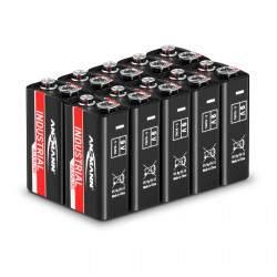 Pramoninės šarminės baterijos 10x9 V 1505-0001
