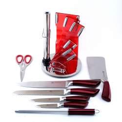 8 dalių peilių rinkinys 408EB| Virtuviniai peiliai