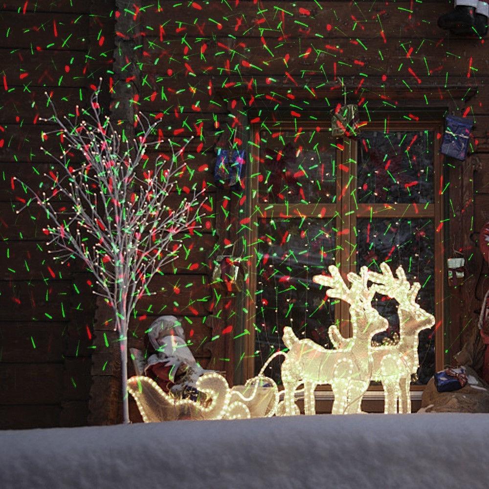 Lazerinis lauko projektorius L03 | Kalėdinis lauko lazeris