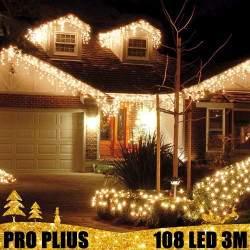 Profesionali lauko girlianda varvekliai 108 LED PRO PLIUS IP67