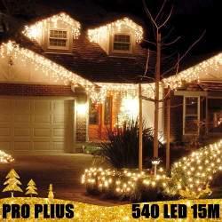 Profesionali lauko girlianda varvekliai 540 LED PRO PLIUS IP67