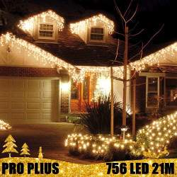 Profesionali lauko girlianda varvekliai 756 LED PRO PLIUS IP67