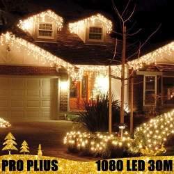 Profesionali lauko girlianda varvekliai 1080 LED PRO PLIUS IP67