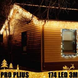 Profesionali lauko girlianda varvekliai 174 LED PRO PLIUS IP67
