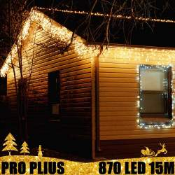 Profesionali lauko girlianda varvekliai 870 LED PRO PLIUS IP67