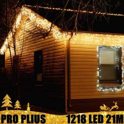Profesionali lauko girlianda varvekliai 1218 LED PRO PLIUS IP67