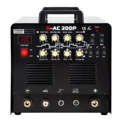 Suvirinimo aparatas S-AC 200P TIG AC/DC - 200 A - 230 V