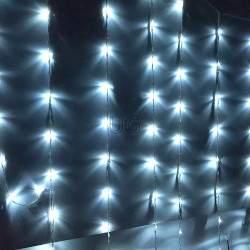 LED girlianda Užuolaida - Krioklys 288 lempučių 2,5 x 1 m