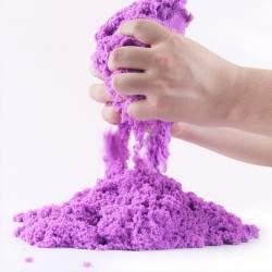 Kinetinis smėlis - violetinis