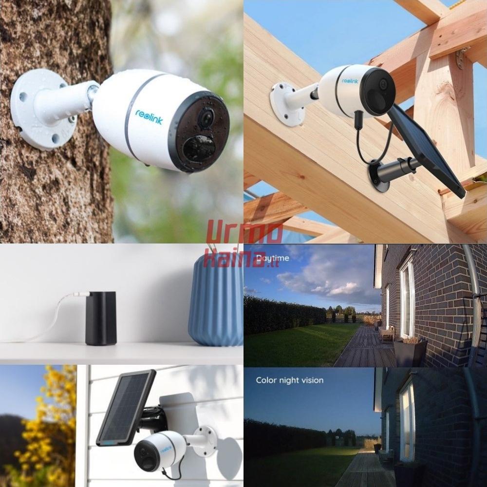 Bevielė IP stebėjimo kamera RA7 4G LTE