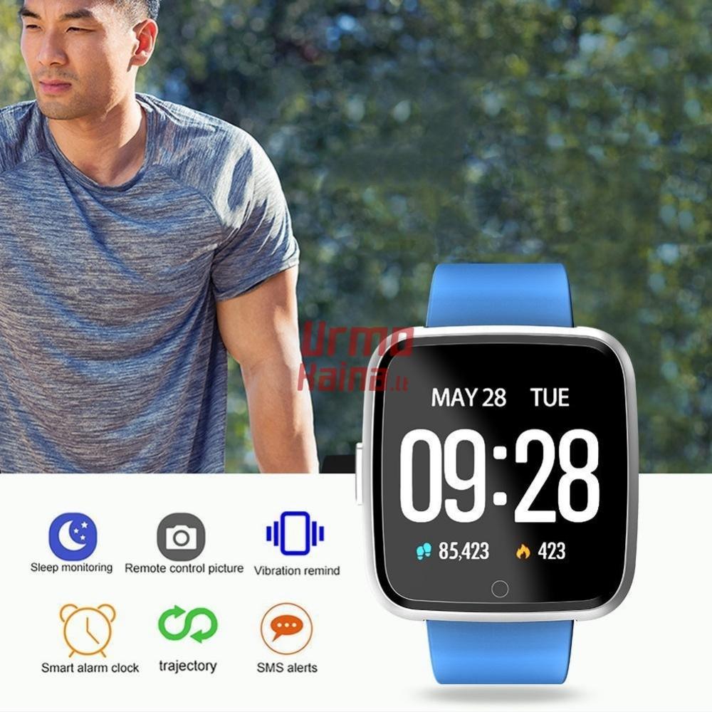 Išmanusis laikrodis su pulso ir spaudimo matuokliu H09