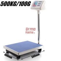 Platforminės svarstyklės E500AM (500 kg, 50x40)
