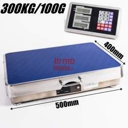 Bevielės platforminės svarstyklės E300AMMW (300 kg, 50x40)