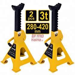Atramų komplektas 2 vnt. 280- 420 mm. 3T