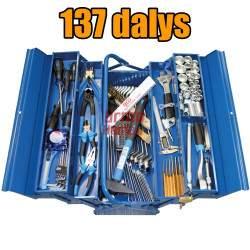 Įrankių rinkinys BGS 137 dalių