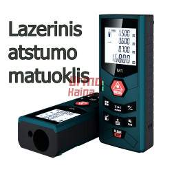Lazerinis atstumo matuoklis LM60