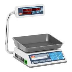 Prekybinės svarstyklės TEL030BC1 - Su kalibracijos sertifikatu   30 kg/10 g
