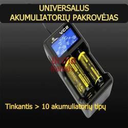 Universalus akumuliatorių kroviklis VC2