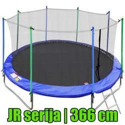 JR serijos batutas su vidiniu tinklu ir kopėčiomis | 366 cm