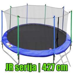 JR serijos batutas su vidiniu tinklu ir kopėčiomis | 427 cm