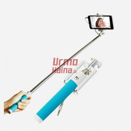 Selfie lazda su laidu S7   Asmenukių teleskopinė lazda