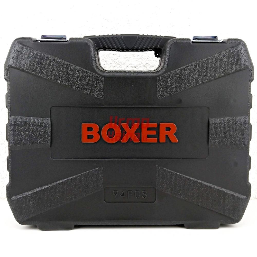 Įrankių galvučių rinkinys BOXER 94 dalių