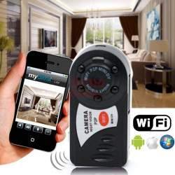 Mini kamera Q7HD WiFi