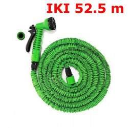 Išsitempianti laistymo žarna su purkštuvu 17,5-52,5M