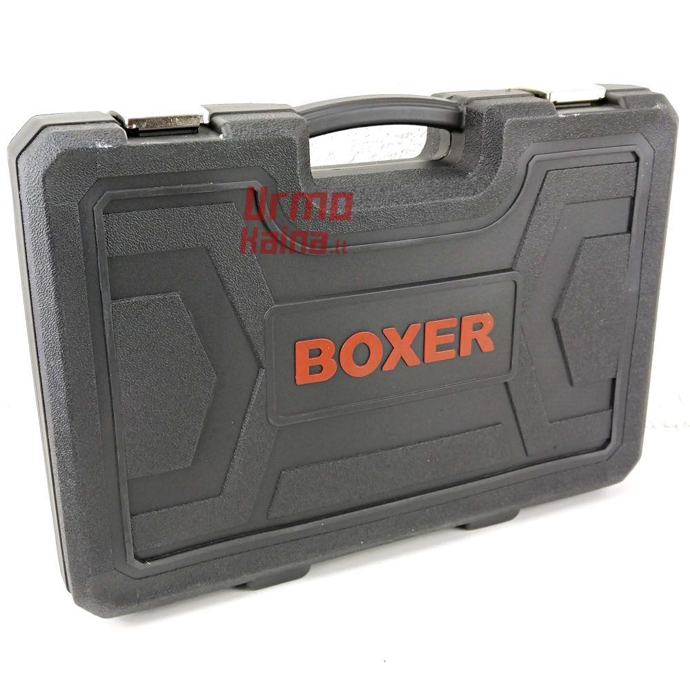 Įrankių galvučių rinkinys Boxer 121 dalių