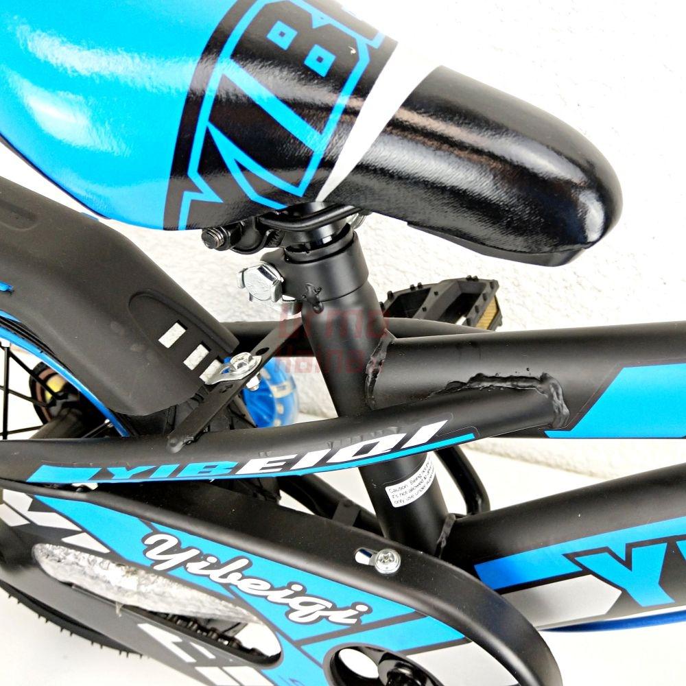 Vaikiškas dviratis YQ12 Blue/ Black