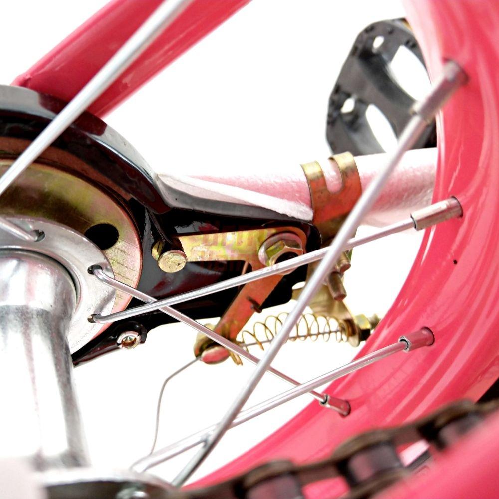 Vaikiškas dviratis JG12 Dark Pink