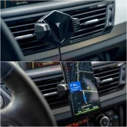 Belaidis telefono laikiklis-kroviklis | Neoline Fixit Qi C4