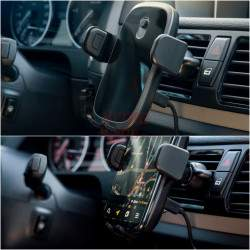 Belaidis telefono laikiklis-kroviklis | Neoline Fixit Qi C2