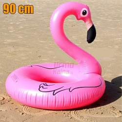 Pripučiamas ratas Flamingas 90 cm