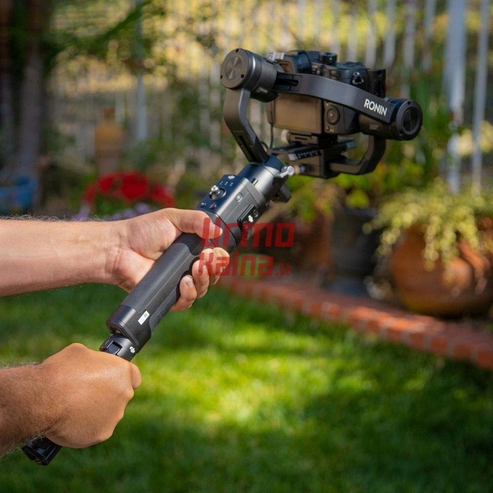 Stabilizatorius fotoaparatui DJI Ronin-S Essentials Kit