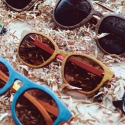 Mediniai akiniai nuo saulės CityWolf CW54