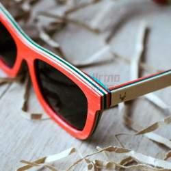 Mediniai akiniai nuo saulės CityWolf CW74