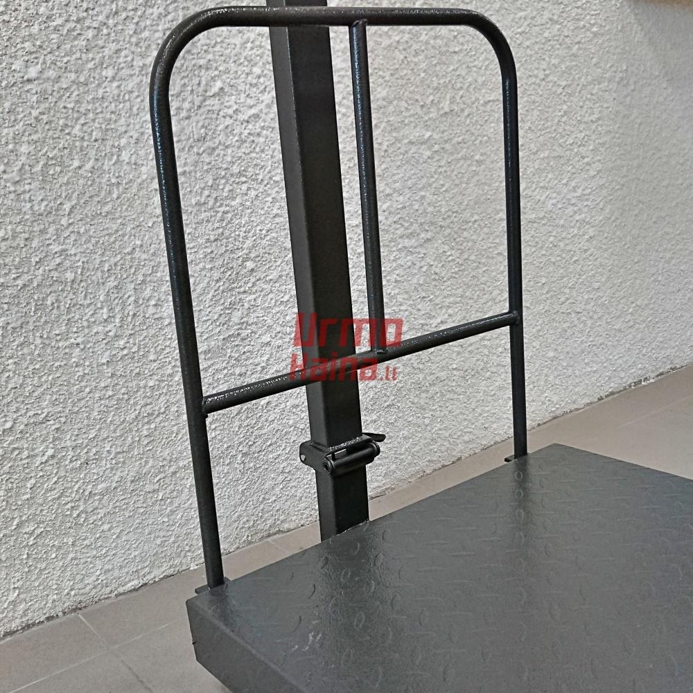 Platforminės svarstyklės 5001BXLFM (500 kg, 80x60)