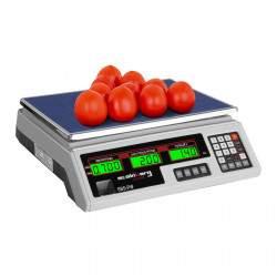 Prekybinės svarstyklės - 35 kg / 2 g SBS-PW-352W