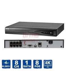 Vaizdo įrašymo įrenginys Hikvision NVR DS-7608NI-K1/8P