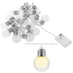 Vielinė LED girlianda su baterijomis RETRO 20 lempučių