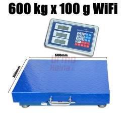 Bevielės platforminės svarstyklės 6001ALMW (600 kg, 60x50)