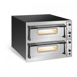 Elektrinė picos krosnis - 32 cm - dviejų aukštų RC-POB66