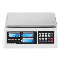 Prekybinės svarstyklės - 3 kg / 0,05 g - LCD
