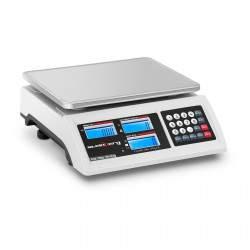 Prekybinės svarstyklės - 15 kg / 0,2 g - LCD