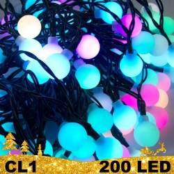 200 LED girlianda burbuliukai BULK CL1