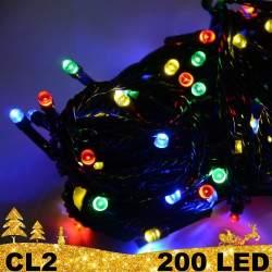 200 LED lempučių girlianda ECO CL2