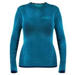 Besiūliai termo marškinėliai Spokey SNOWFLAKE TOP M/L