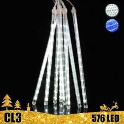 LED girlianda meteorų lietus 80 cm CL3
